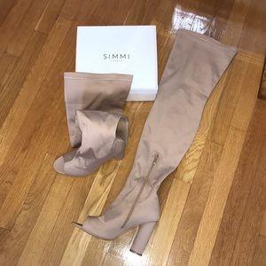 Lycra Heels